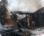 Подробнее: Спасшихся на пожаре доставили в ЦРБ